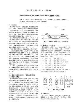 側 関 田 川 - シャトー海洋調査