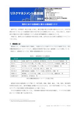 リスクマネジメント最前線 - 東京海上日動リスクコンサルティング株式会社