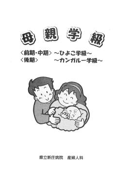 母親学級パンフレット (PDF 1.58MB)