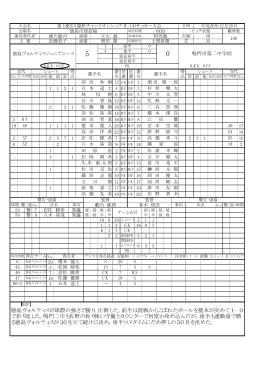 徳島ヴォルティスが球際の強さで勝り,圧倒した。前半は混戦からこぼれ