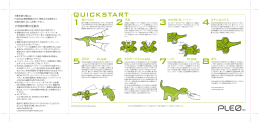 QUICKSTART - Pleo World