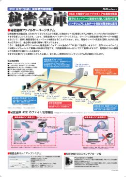 秘密金庫ファイルサーバーシステム