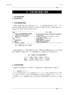 正常分娩経過の概要( PDF 295kB)