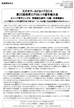 こちら - 岡山県エアロビック連盟