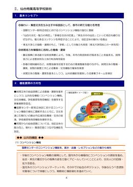Ⅱ.仙台商業高等学校跡地