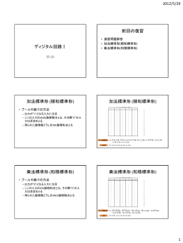 加法標準形 (積和標準形)