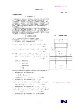 版数:01 『収縮締結の設計』 1.収縮締結とは 2.収縮締結の計算 A B