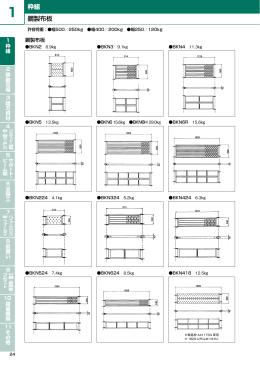 鋼製布板 枠組