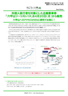 六甲山ツーリストパス - 阪神電気鉄道株式会社