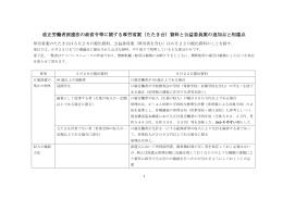 改正労働者派遣法の政省令等に関する厚労省案