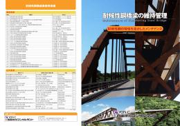 耐候性鋼橋梁の維持管理( PDFファイル:3.78MB)