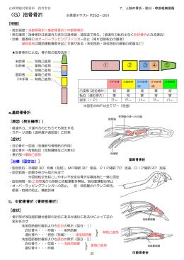 (G)指骨骨折 ① ② ③ ④ ⑤