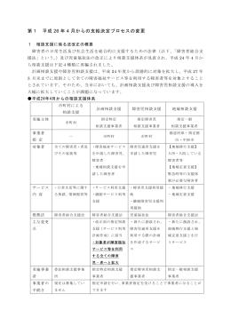 第1 支給決定プロセスの変更 (PDF:716KB)