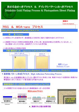 RSG & MOA-nano プロセス