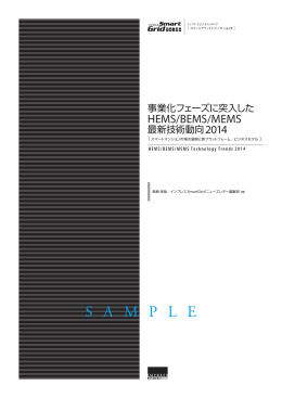 サンプル版を表示 - インプレス総合研究所 調査報告書