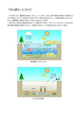 「かいぼり」について(PDF形式:126KB)
