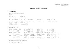 平成十八年二月吉日(H200128) 採譜:甲斐カオン 佐倉市吉見 住吉神社
