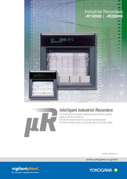 Intelligent Industrial Recorders