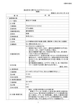 黄色ブドウ球菌 (PDF:303KB)