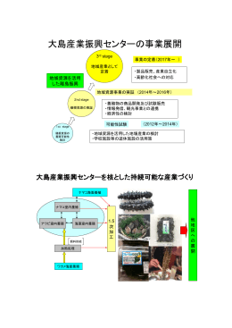 大島産業振興センターの事業展開