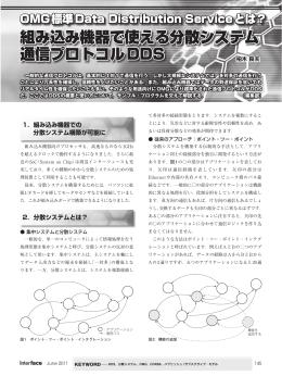 組み込み機器で使える分散システム 通信プロトコルDDS