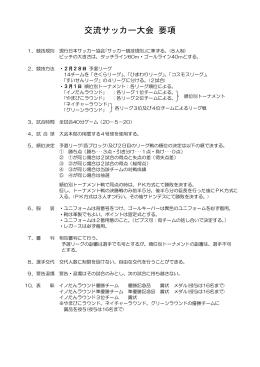 阪神丹波ふるさと交流サッカー大会