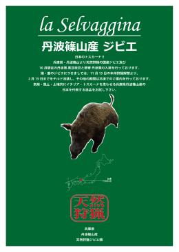 丹波篠山産 ジビエ 天然 狩猟