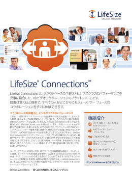 LifeSize® Connections