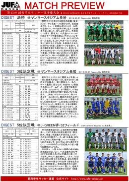 最終日リザルト - 関西学生サッカー連盟