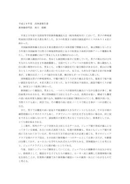 平成26年度報告書 - 佐賀県高等学校体育連盟