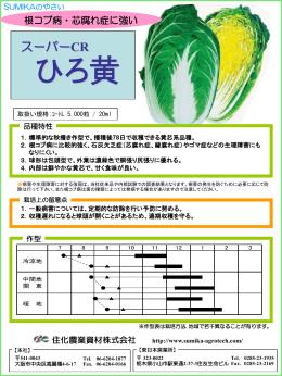 ひろ黄 - 住化農業資材株式会社