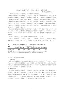 薬剤感受性が低下したイネウンカ類に対する防除対策(PDF:560KB)