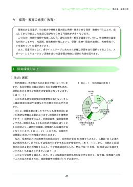 Ⅴ 保育・教育の充実(教育) 1 保育環境の向上