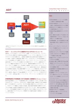 ADiT − ミックスシグナル回路向けfast