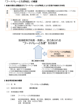 フードバレーとちぎ特区(PDF:311KB)