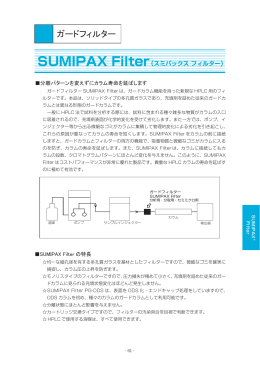 SUMIPAX Filter