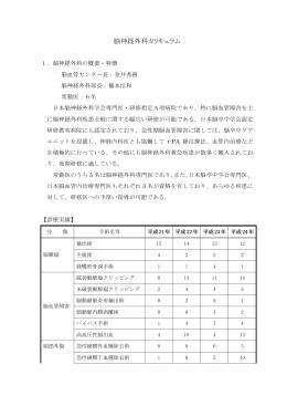 脳神経外科(pdf 112kb)