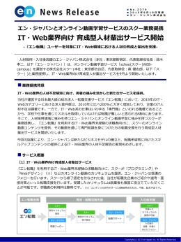 業務提携背景 - エン・ジャパン株式会社