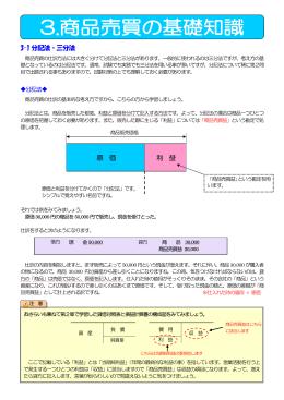 3-1 分記法・三分法 原 価 利 益 - javascriptなどを使った簡単なアプリを