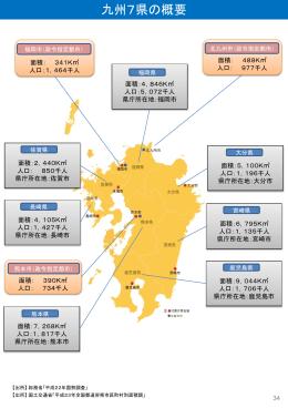 九州7県の概要