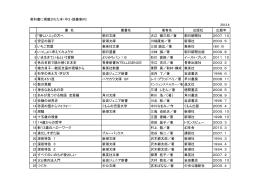 教科書に掲載された本(中3・読書案内) 2013.4 書 名 叢書名 著者名