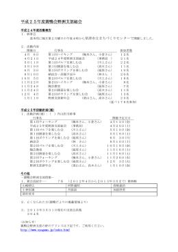 25_1平成25年度支部総会・懇親会報告