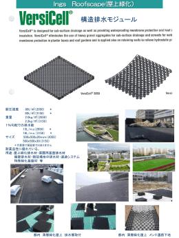 構造排水モジュール