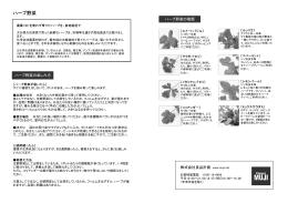 ハーブ野菜の楽しみ方PDFダウンロード