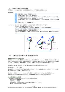 11. 決断力を鍛える下丹田体操 12. [青い空・白い雲]+