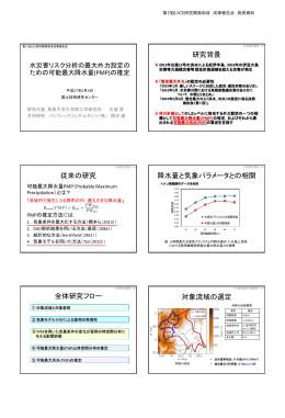 降水量と気象パラメータとの相関 - JICE 一般財団法人 国土技術研究