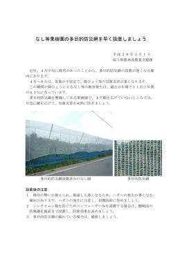 多目的防災網を早く設置しましょう(PDF:221KB)