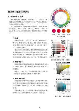 第2章 色彩について