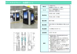 J・ADビジョン 池袋駅セット - OOH