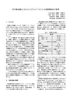 CPP1軸1舵船におけるミニマムアヘッドピッチによる投錨操船法の提案